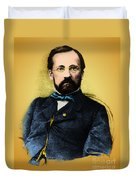 Louis Pasteur, French Chemist Duvet Cover