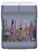 Mackinac Race Duvet Cover