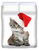 Maine Coon Kitten Duvet Cover