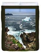 Melting Iceberg Duvet Cover