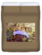 Nudibranch Feeding On Algae, Papua New Duvet Cover