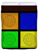 4 Oreos Duvet Cover