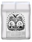 Presidential Campaign, 1876 Duvet Cover