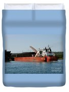 Presque Isle Ship Duvet Cover