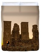 Reculver Towers Duvet Cover