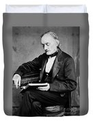 Richard Owen, English Paleontologist Duvet Cover by Science Source