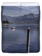 Sailing Boat Duvet Cover