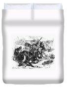 Sam Houston (1793-1863) Duvet Cover