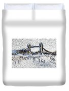 Southbank London Art Duvet Cover
