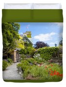 The Gardens Of Royal Roads University Duvet Cover