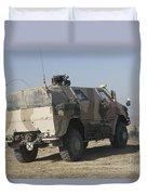 The German Army Atf Dingo Armored Duvet Cover