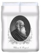 William Cullen Bryant Duvet Cover