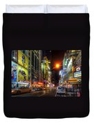 42nd Street Nyc 3.0 Duvet Cover