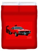 440 Charger Duvet Cover