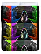 440 Cuda Billboard Pop Duvet Cover