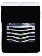 48 Chevy Convertible Grill Duvet Cover