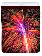 4th Of July - Independence Day Fireworks Duvet Cover
