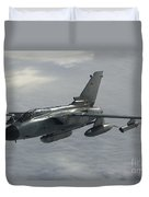 A Luftwaffe Tornado Ids Over Northern Duvet Cover