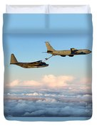 A Mc-130h Combat Talon II Duvet Cover