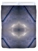 Abstract Ice Duvet Cover