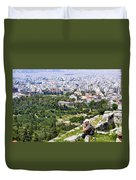 Athens Greece Duvet Cover