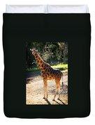 Baringo Giraffe  Duvet Cover