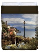 Brissago - Ticino Duvet Cover