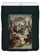 Charlemagne (742-814) Duvet Cover