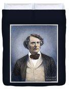 Charles Sumner (1811-1874) Duvet Cover