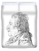 Claude-louis Berthollet, French Chemist Duvet Cover