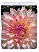 Dahlia Named Valley Porcupine Duvet Cover