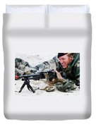 Dutch Royal Marines Taking Part Duvet Cover by Luc De Jaeger