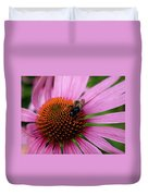 Eastern Purple Coneflower Duvet Cover
