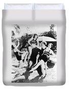 Film Still: Beach Duvet Cover