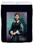 Florence Nightingale, English Nurse Duvet Cover
