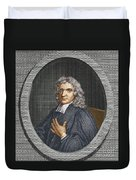 John Flamsteed, English Astronomer Duvet Cover