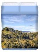 Landscape Duvet Cover by Les Cunliffe