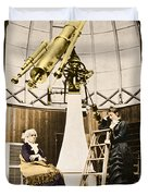 Maria Mitchell American Astronomer Duvet Cover