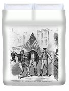 New York: Draft Riots, 1863 Duvet Cover
