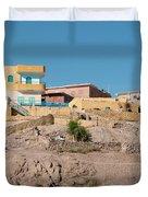 Nubians Nile Philae Duvet Cover
