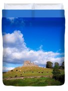 Rock Of Cashel, Co Tipperary, Ireland Duvet Cover by The Irish Image Collection