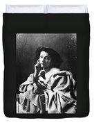 Sarah Bernhardt Duvet Cover