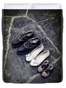 Shoes Duvet Cover by Joana Kruse
