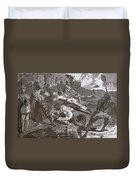 Siege Of Vicksburg, 1863 Duvet Cover