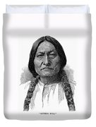 Sitting Bull (1834-1890) Duvet Cover