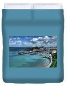 Tenby Harbour Duvet Cover