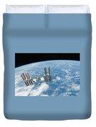 The International Space Station Duvet Cover