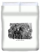 Uncle Toms Cabin Duvet Cover