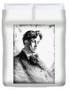 William Butler Yeats Duvet Cover