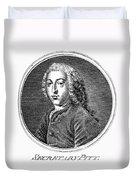 William Pitt (1708-1778) Duvet Cover